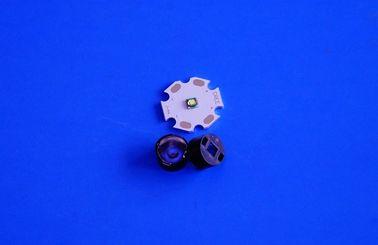 가장 작은 30/45/60/90 정도 구슬 표면 3535 LED 1w 3w 광학 렌즈